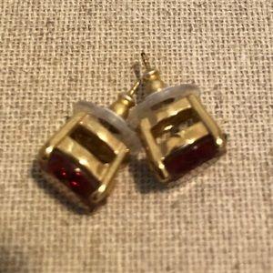 kate spade Jewelry - Kate spade gemstone stud earrings